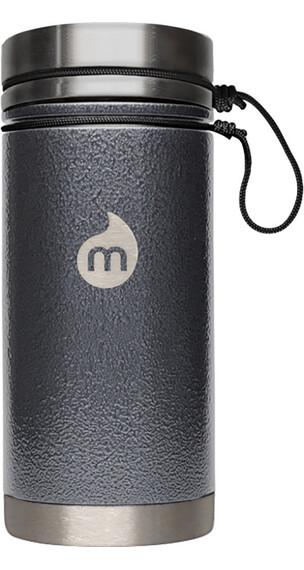 MIZU V5 Insulated Bottle 500 ml Gray Hammer Paint